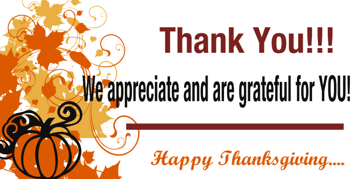 Happy november and happy thanksgiving aimee davis principal broker dba firefly real estate for Happy thanksgiving banners